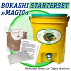 Bokashi-Kücheneimer MAGIC, 11 l, Starterset